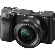 New Sony Alpha A6400 ILCE-6400 Digital Camera w/ 16-50mm f/3.5-5.6 Zoom Lens