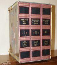 Enciclopedia Medica Curcio - 3 volumi - Curcio editore + cofanetto
