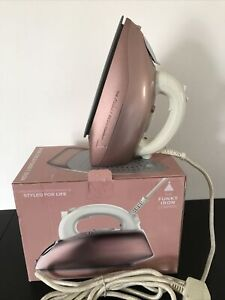 The Funky Iron Co - 2400w Steam Generator Iron , Rose Gold , USED