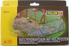 FALLER HO scale ~ STEEL MESH GARDEN FENCE ~ plastic model kit-set # 180414