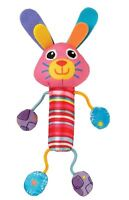 Lamaze Cheery Chimes Bunny Soft Fun Activity Baby Toy Multicoloured