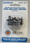 BACHMANN  HO/OO SCALE INTERNATIONAL STYLE HOOK & LOOP COUPLERS 3pr. thomas 78979