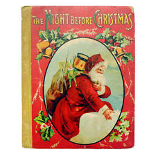 1918 THE NIGHT BEFORE CHRISTMAS Early Illustrated Book w/GIFT INSCRIPTION