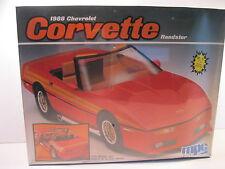 CHEVY CORVETTE ROADSTER 1988 MODEL KIT STOCK OR CUSTOM MPC ERTL SEALED 1/16