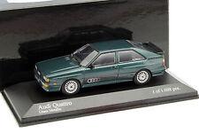 Minichamps Audi Ur Quattro Lhasa Metallic 1/43