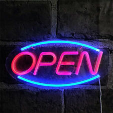 LED Neon Light Ultra Bright Animated Motion with ON/OFF Store OPEN Business Sign