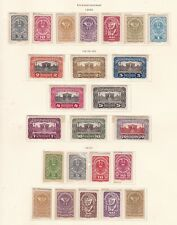 Austria^1919-20 hinged Classics on page $@dca89xxbosttco
