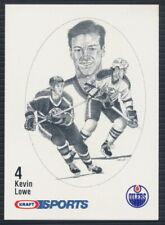 1986-87 Kraft Sports Hockey Card Kevin Lowe