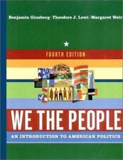 We the People intro to American politics 0393979288 NEW