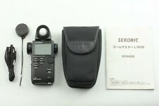 【TOP MINT w/ Case】 Sekonic L-508 Zoom Master Digital Light Exposure Meter JAPAN