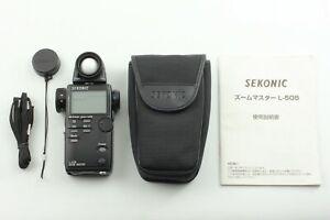 【 Beste Mint 】 Sekonic L-508 Zoom Master Digital Licht Exposure Meter Aus Japan