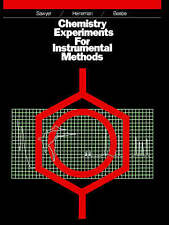 Chemistry Experiments for Instrumental Methods-ExLibrary