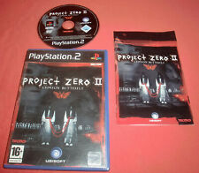Playstation PS2 Project Zero II Crimson Butterfly [PAL (Fr)] *JRF*