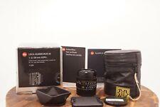 "Leica Summicron-M 28mm f/2 MF Aspherical Lens 6 Bit-Coded Boxed ""MINT"""