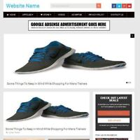 MENS SHOES STORE - Fully Stocked Online Business Website For Sale + Domain