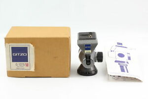 [Top MINT] Gitzo G1275M Ball Head with new plate with 1/4 Screw From JAPAN