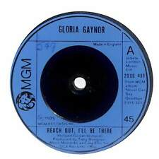 """Gloria Gaynor - Reach Out, I'll Be There - 7"""" Vinyl Record"""