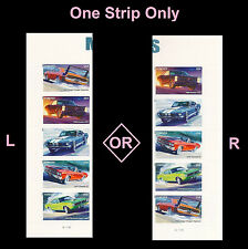 US 4747a Muscle Cars forever plate vert strip set MNH 2013