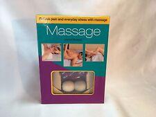 Massage Kit Joanna Trevelyan Book & CD & Massage Roller Health Fitness sealed