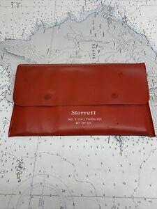 """Starrett Adjustable Parallels Set No. S154LL. 3/8-21/4""""."""