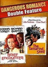 BRIEF ENCOUNTER (1974) & THE TAMARIND SEED (1974)~13 VG/C DBL. FEAT DVD~ROMANCE