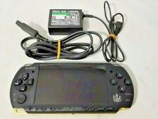 Monster Hunter Limited Model PSP 3000 Matte Black Gold Console japan game JP F/S