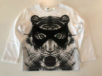 H&M BOY TODDLER GRAPHIC LONG SLEEVE TEE SIZE US 1 1/2-2Y