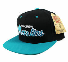 Florida Marlins Script Snapback hat cap NHL Miami NEW