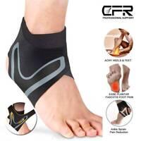 Adjustable Ankle Foot Brace Compression Support Elastic Bandage Arthritis Wrap