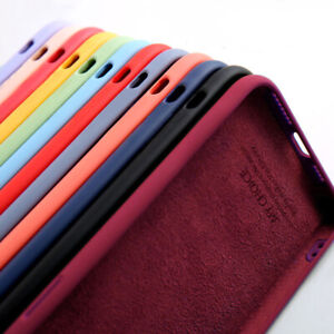 Case For iPhone 13 12 Pro Max 11 XR XS 8 7 Plus SE 2nd Shockproof Silicone Cover