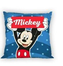 Funda cojin Mickey Mouse 40x40 cm.  Con cremallera. Relleno incluido. Reversible
