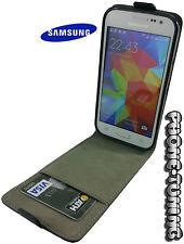Funda flip cover piel para SAMSUNG GALAXY S ADVANCE I9070 carcasa cierre imán