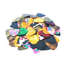 100pcs Pro Acoustic Bulk Celluloid Electric Smooth Guitar Pick Picks Plectrum^