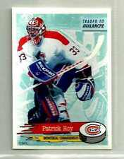 1995-96 Panini Stickers PATRICK ROY Oddball Hockey Card #46 Mint Goalie BV SP