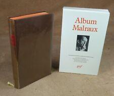 LA PLEIADE : ALBUM MALRAUX / 1986