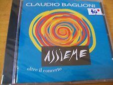 CLAUDIO BAGLIONI ASSIEME  CD SIGILLATO