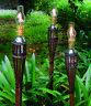 5 stoppini stoppino di ricambio per torcia torce lanterna lanterne fiaccole