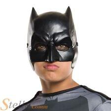 Child Batman Dawn Of Justice Face Mask Superhero Fancy Dress Costume Accessory