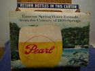 Pearl beer 6 pack cardboard carton 50s-60s???