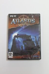 The Secrets of Atlantis - L'Heritage Sacre. Set PC French, New And Sealed
