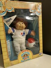 Vintage 1986 Cabbage Patch Kids All Stars Montreal Expos Baseball Doll Coleco