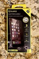 NEW Aduro Shatterguardz Tempered Glass Screen Guard For iPhone 6, 6S.