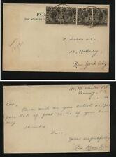 Straits  Settlements  Penang  post  card  1920   MS0226
