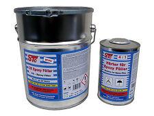 7 kg Set 2K Epoxy Füller Epoxid Grundierung 4:1 Grundierfüller Rostschutz grau