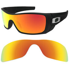 Polarized Fire Red Replacement Lenses for Oakley Batwolf Sunglasses