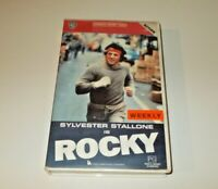 Rocky VHS Pal Warner Original box big box ex rental