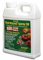 Organic Garden Insect Killer & Repellent Spray Oil w/ Odorless Formula (32oz)