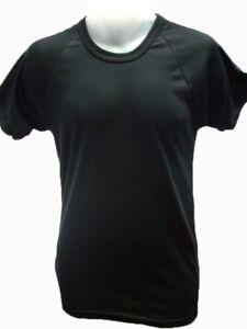 T Shirt - Black - Crew - Army & Military