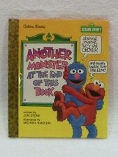 NEW Little Golden Storybook Another Monster at the End of This Book 1ST Ed 1997