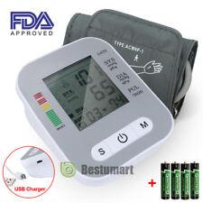 Automatic Upper Arm Blood Pressure Monitor Digital Cuff Push Button FDA Approved